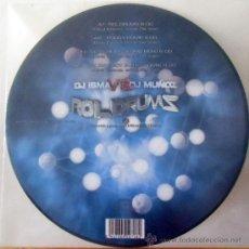 Discos de vinilo: PICTURE DISC - DJ ISMA VS. DJ MUÑOZ – ROLDRUMS. Lote 155810682