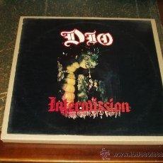 Discos de vinilo: DIO LP INTERMISION HEAVY METAL CUARTO ALBUM. Lote 39276080