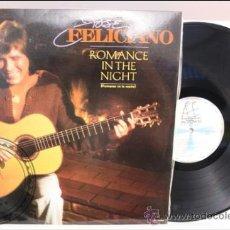 Discos de vinilo: JOSÉ FELICIANO - ROMANCE IN THE NIGHT - RCA - 1983 - FABRICADO EN ESPAÑA. Lote 39277052