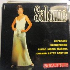 Discos de vinilo: SALOME EP - ESPERARE+3 BELTER. Lote 39285651