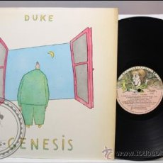 Discos de vinilo: GÉNESIS - DUKE - FONOGRAM - 1980 - FABRICADO EN ESPAÑA - TAPA DOBLE CON LETRAS. Lote 39289558