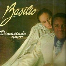 Discos de vinilo: BASILIO LP PORTADA DOBLE SELLO NOVOLA AÑO 1977 EDITADO EN ESPAÑA. Lote 39287738