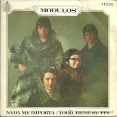 Discos de vinilo: MODULOS SINGLE SELLO HISPAVOX AÑO 1969. Lote 39292544