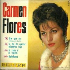 Discos de vinilo: CARMEN FLORES EP SELLO BELTER AÑO 1966. Lote 39293008