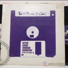Discos de vinilo: FAT BOY SLIM - BETTER LIVING TROUGH CHMISTRY - SKINT - UK - DOBLE LP. Lote 39295749
