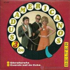 Discos de vinilo: LOS TRES SUDAMERICANOS SINGLE SELLO BELTER AÑO 1967. Lote 39303567