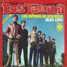 Discos de vinilo: LOS TAMARA SINGLE SELLO NOVOLA AÑO 1969 PROMOCIONAL.. Lote 39303594