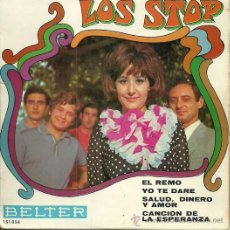Discos de vinilo: LOS STOP EP SELLO BELTER EDITADO EN FRANCIA. Lote 39303620