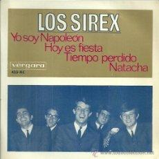 Discos de vinilo: LOS SIREX EP SELLO VERGARA AÑO 1966. Lote 39303690