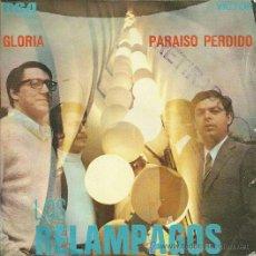Discos de vinilo: LOS RELAMPAGOS SINGLE SELLO RCA VICTOR AÑO 1970.. Lote 39303723