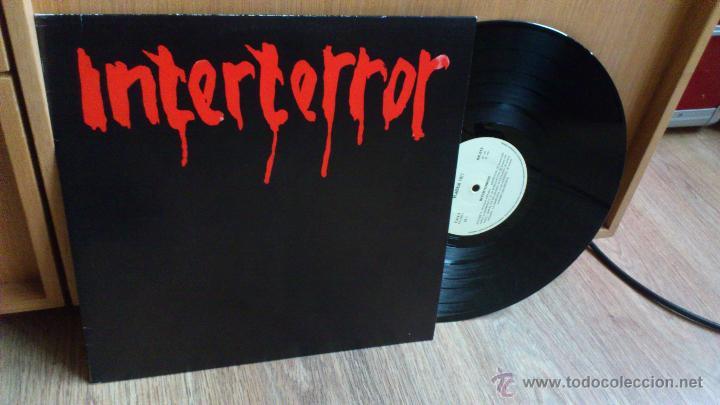 INTERTERROR LP REEDICION RADIKAL RECORDS DISCO DE VINILO PUNK SEGURIDAD SOCIAL ESKORBUTO (Música - Discos - LP Vinilo - Punk - Hard Core)