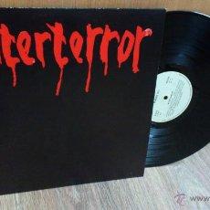 Discos de vinilo: INTERTERROR LP REEDICION RADIKAL RECORDS DISCO DE VINILO PUNK SEGURIDAD SOCIAL ESKORBUTO. Lote 39304908