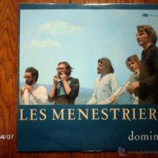 Discos de vinilo: LES MENESTRIERS - DOMINO . Lote 39313144