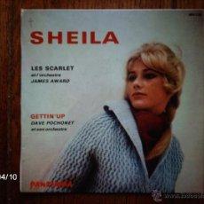Discos de vinilo: LES SCARLET ET L´ORCHESTRE JAMES AWARD (SHEILA) + DAVE POCHONET ET SON ORCHESTRE (GETTIN´UP ) . Lote 39333466