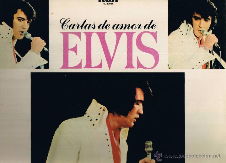 ELVIS PRESLEY - CARTAS DE AMOR - FOTO ADICIONAL (Música - Discos - LP Vinilo - Rock & Roll)