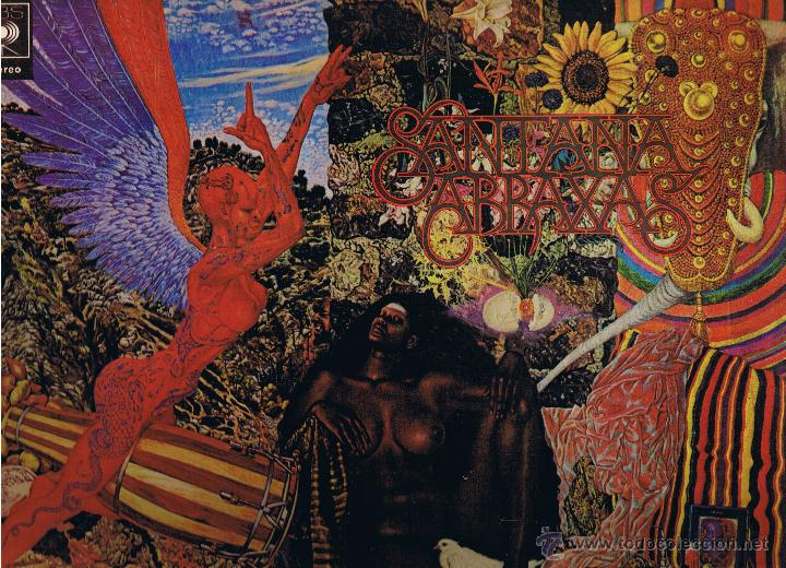 SANTANA - ABRAXAS - FOTO ADICIONAL (Música - Discos - LP Vinilo - Pop - Rock - Internacional de los 70)