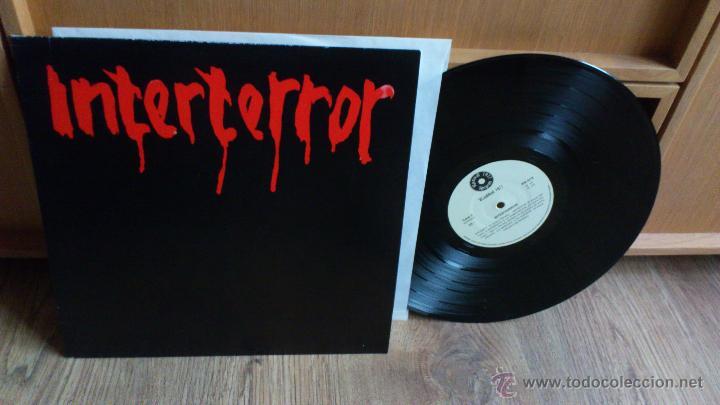 Discos de vinilo: Interterror lp Reedicion Radikal records disco de vinilo Punk Seguridad social Eskorbuto - Foto 3 - 39304908
