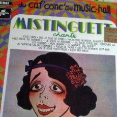 Discos de vinilo: MISTINGUETT DU CAF´CONC´AUMISIC-HALL Nº 17. C1V. Lote 39328837