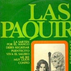 Discos de vinilo: LAS PAQUIRAS 1975 BELTER 22.747. Lote 49657314