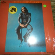 Discos de vinilo: GEORGE CARLIN - FM & AM LP - ORIGINAL U.S.A. - LITTLE DAVID RECORDS 1972 FUNDA INT ORIGINAL-. Lote 39331605