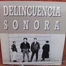 Discos de vinilo: DELINCUENCIA SONORA. Lote 39333917