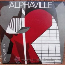 Discos de vinilo: ALPHAVILLE -LA ESCALERA-. Lote 39334400