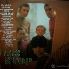 Discos de vinilo: LP DE LOS STOP. Lote 39352565