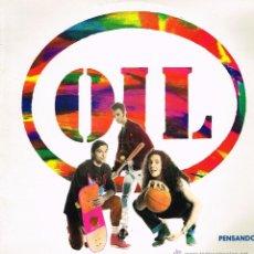 Discos de vinilo: OIL - PENSANDO - MAXISINGLE 1991. Lote 39436713