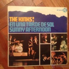Discos de vinilo: EP THE KINKS + SUNNY AFTERNOON + 3. Lote 39358246