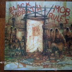 Discos de vinilo: BLACK SABBATH - MOB RULES . Lote 39361718