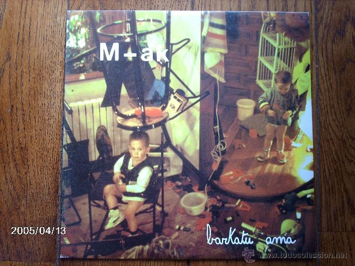 M-AK (KAKI ARKARAZO EX NEGU GORRIAK ) - BARKATU AMA (Música - Discos - LP Vinilo - Rock & Roll)