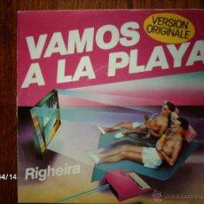 Discos de vinilo: RIGHEIRA - VAMOS A LA PLAYA + PLAYA DUB . Lote 39364170