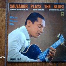 Discos de vinilo: HENRI SALVADOR - SALVADOR PLAYS THE BLUES + 2. Lote 39364355