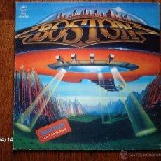 Discos de vinilo: BOSTON - DON´T LOOK BACK. Lote 39367837