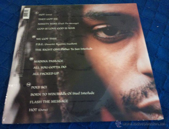 Discos de vinilo: JOHN FORTÉ - poly sci ( 2LP HIP HOP 1998 ) nuevo y precintado - Foto 2 - 98937988