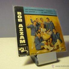 Discos de vinilo: BOB AZZAM LES MARRONS CHAUDS EP+3 . Lote 39381746