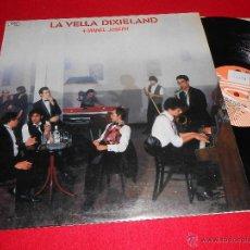 Discos de vinilo: LA VELLA DIXIELAND + MANEL JOSEPH 3 LP 1989 JAZZY CLASICOS ROCK AND ROLL CATALA. Lote 39384222