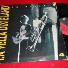 Discos de vinilo: LA VELLA DIXIELAND EN DIRECTE 4 LP 1990 BLAU CATALA JAZZY GATEFOLD. Lote 39384273