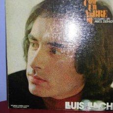 Discos de vinilo: LLUIS LLACH LP PORTADA DOBLE SELLO MOVIEPLAY AÑO 1972. Lote 39386457