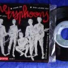 Discos de vinilo: THE TYPHOONS 7 EP VERGARA REF. 35.6.025 C ESPAÑA 1964 . Lote 39387157