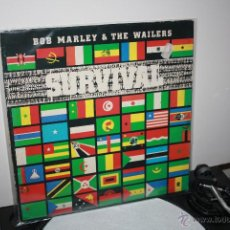 Discos de vinilo: BOB MARLEY AND THE WAILERS - SURVIVAL - TUFF GONG - 1979 - VG+. Lote 39387686