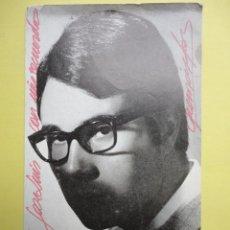 Discos de vinilo: TARJETA PUBLICITARIA DE FRANCISCO JOSE.. Lote 39388194