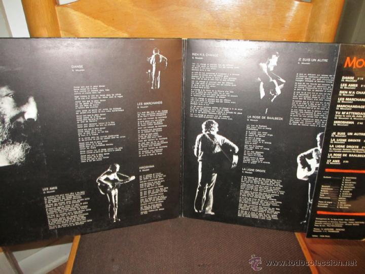 Discos de vinilo: GEORGE MOUSTAKI / MOUSTAKI 1973 !! ORIG EDIT, DOBLE CARPETA, TODO IMPECABLE !!! - Foto 2 - 39390402