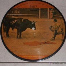 Disques de vinyle: ORQUESTA MARAVELLA - GALLITO - PICTURE DISC EP - 1972. Lote 39391506