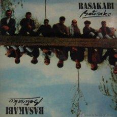 Discos de vinilo: BASAKABI-BETIRAKO LP VINILO 1991 SPAIN. Lote 39397654