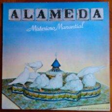 Discos de vinilo: ALAMEDA, MISTERIOSO MANANTIAL - LP. INCLUYE ENCARTE INTERIOR CON LETRAS. Lote 39399730