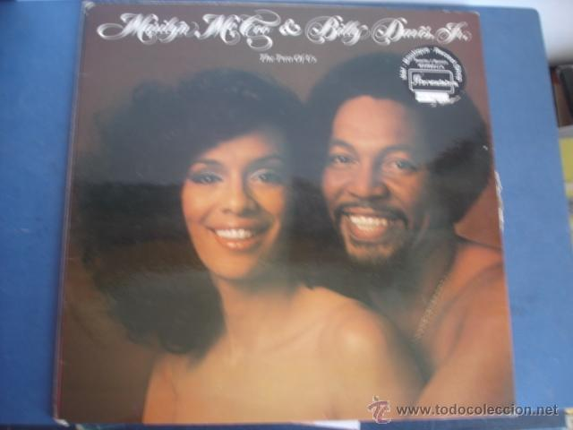 MARILYN MCCOO & BILLY DAVIS JR. ?– THE TWO OF US PORTADA DOBLE (Música - Discos - LP Vinilo - Funk, Soul y Black Music)