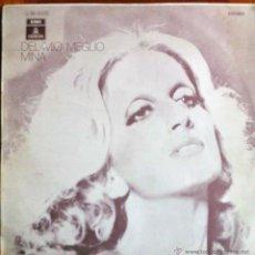 Discos de vinilo: MINA, DEL MIO MEGLIO - LP ESPAÑA ORIGINAL 1971, CON TÍTULOS EN ESPAÑOL. Lote 39405938