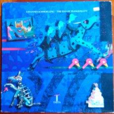 Discos de vinilo: JOHANNES SCHMOELLING (TANGERINE DREAM), THE ZOO OF TRANQUILLITY - LP. Lote 39406686