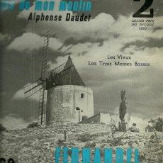 Discos de vinilo: FERNANDEL 10¨ (25 CTMS.) DEL SELLO DECCA AÑO 1953 EDITADO EN FRANCIA. Lote 39407643